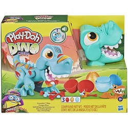 Play-Doh Dino Glotón Crew Crunchin T-Rex con sonido F1504 Hasbro plastilina