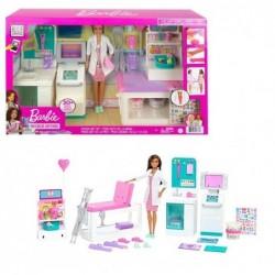 Barbie Doctora con Clínica...