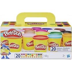 Play-Doh Color Surtido Pack 20 Botes Hasbro A7924EUC plastilina 20 colores