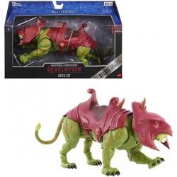 Masters of the Universe Revelation Masterverse Figura Battle Cat muñeco articulado Mattel GYV18