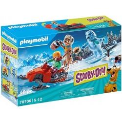 Playmobil 70706 Scooby-Doo! Aventura con Snow Ghost