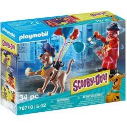 Playmobil 70710 Scooby-Doo! Aventura con Ghost Clown