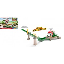 Hot Wheels Mario Kart Piraña pistas de coches con vehículo para niños + 3 años Mattel GFY47