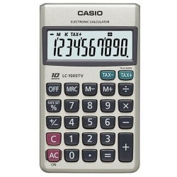 Calculadora Casio LC-1000TV 10 digitos