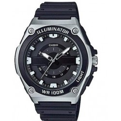 Reloj de Pulsera CASIO MWC-100H-1A Analógico para Hombre Color Negro Correa Resina