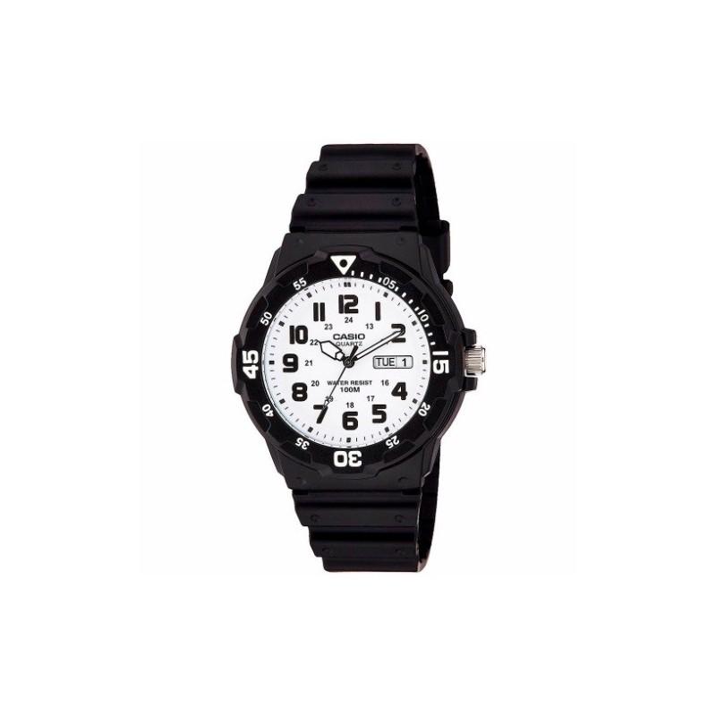 Reloj de Pulsera CASIO MRW-200H-7B Analógico para Hombre Color Negro Correa Goma