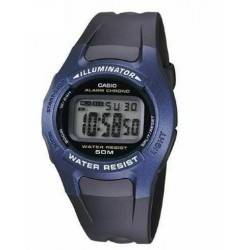Reloj Casio W-43H-1A digital correa caucho Cronómetro Alarma 50M
