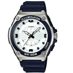 Reloj de Pulsera CASIO MWC-100H-7A Analógico para Hombre Color Negro Correa Resina