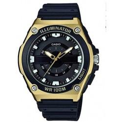 Reloj de Pulsera CASIO MWC-100H-9A Analógico para Hombre esfera negra Correa Resina