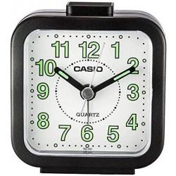 Despertador Casio Tq-141-1d Despertador Alarma color negro
