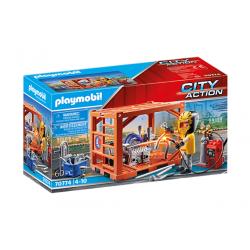 Playmobil 70774 Fabricante de Contenedores