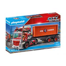 Playmobil 70771 Camión con Remolque