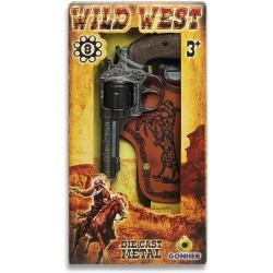 Wild West Revolver de 8...
