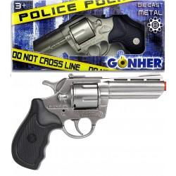 Revolver policía 8 tiros...