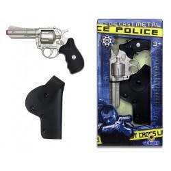 Pistola revolver Policía...