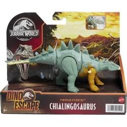 Jurassic World Fuerza Feroz Chialingosaurus Dino Escape Dinosaurio articulado Mattel HBY69