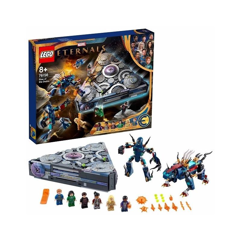 Lego Marvel Super Heroes 76156 Ascenso de Domo edad