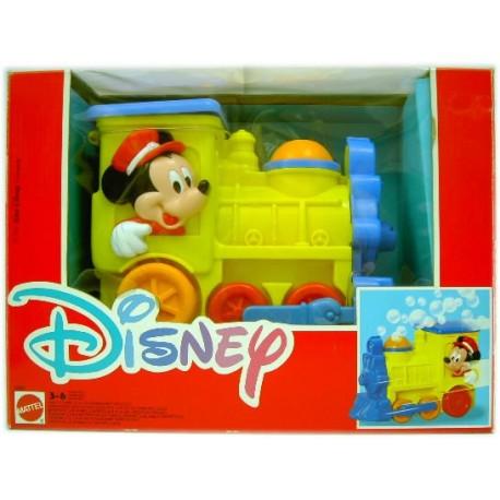 Tren burbujas Mickey Mouse