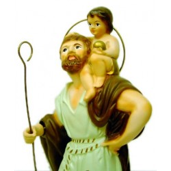 Figura San Cristóbal 26cm