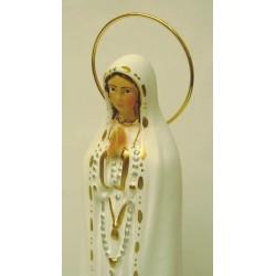 Figura Virgen de Fátima 24cm