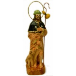 Figura de San Roque 24cm