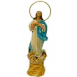 Figura Virgen Purísima 25cm