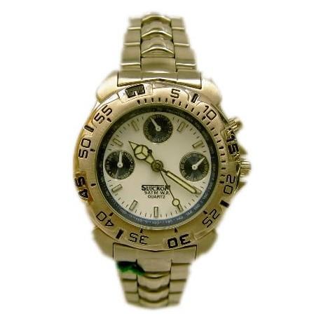 Reloj cadete Suicrom cromado 9706