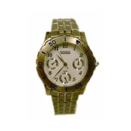 Reloj cadete Suicrom cromado 7988