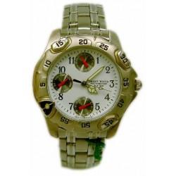 Reloj cadete Suicrom cromado 9122C