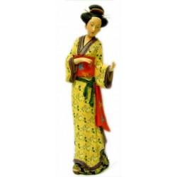 Figura geisha japonesa