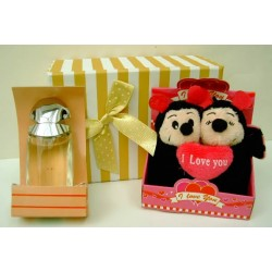 Set regalo peluche y colonia