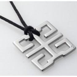 Colgante de acero runa cuadrada mod.CJD-24