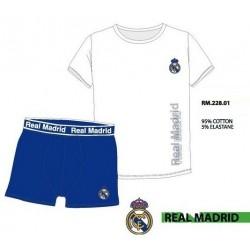 Set interior Real Madrid camiseta y boxer adulto