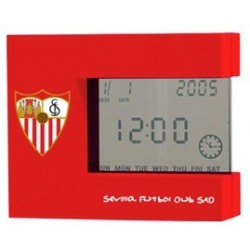 Despertador Sevilla FC cristal líquido