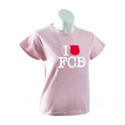 Camiseta Fc Barcelona rosa
