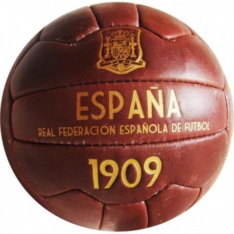 Balón retro Selección Española de Fútbol