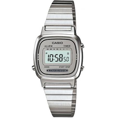 Reloj casio señora plateado LA670WEA-7EF