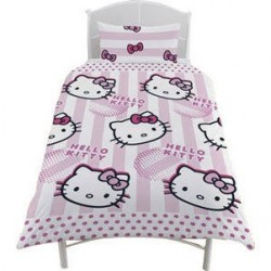 Conjunto funda nórdica Hello Kitty cama 90
