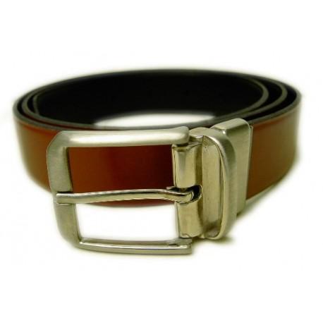 Cinturón caballero a 2 colores