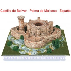 Maqueta Castell de Bellver Palma de Mallorca