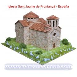 Maqueta Iglesia Sant Jaume de Frontanyà