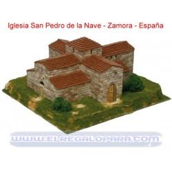 Maqueta Iglesia San Pedro de la Nave Zamora Aedes Ars 1:80