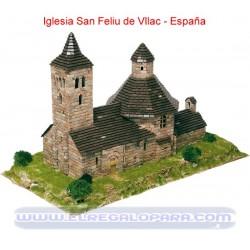 Maqueta Iglesia de Sant Feliu de Vilac