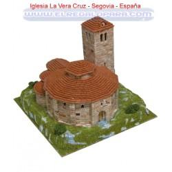 Maqueta Iglesia de la Vera Cruz Segovia Aedes Ars 1105