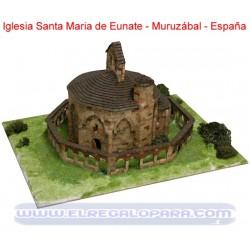Maqueta Iglesia Santa María de Eunate Muruzábal
