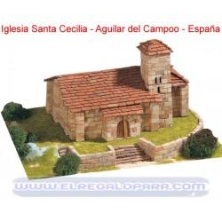 Maqueta Iglesia Santa Cecilia Aguilar de Campoo