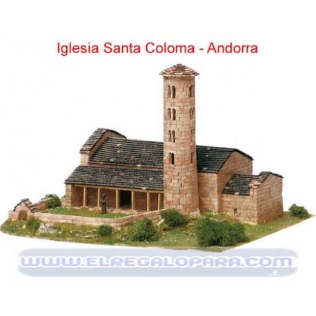 Maqueta Iglesia Santa Coloma Andorra la Vella
