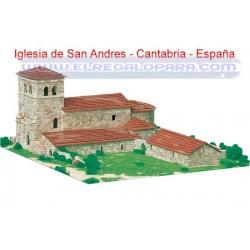 Maqueta Iglesia San Andrés de Argomilla cayon