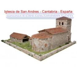 Maqueta Iglesia San Andrés de Argomilla