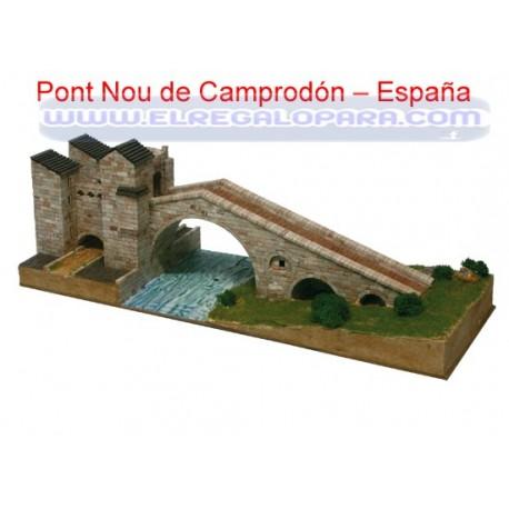 Maqueta Pont de Camprodón